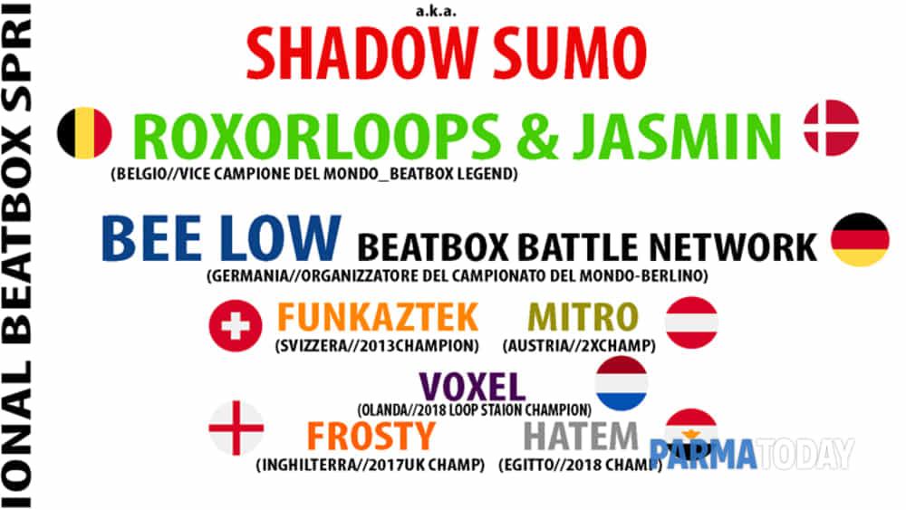 human beatbox festival 2019: decimo anniversario il raduno internazionale si svolgerà il 2 marzo al campus industry a parma-2