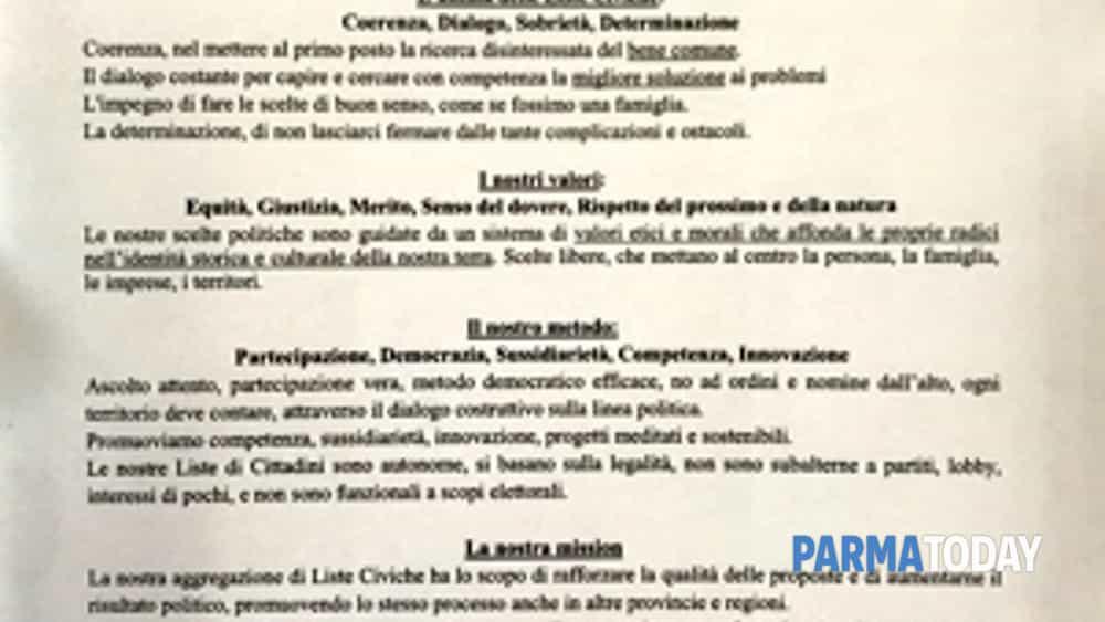 le liste del territorio firmano l'impegno per l'emilia-romagna-2