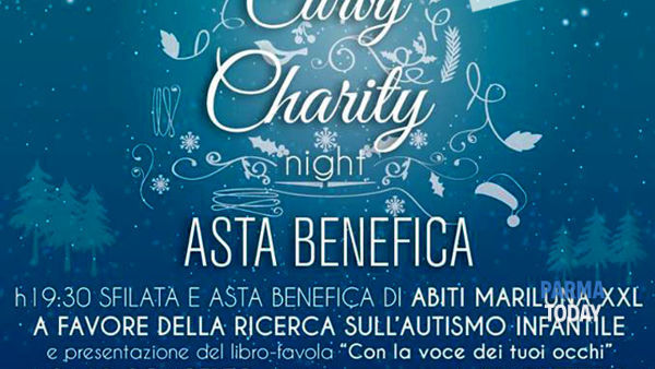 Curvy charity night - asta benefica abiti mariluna xxl pro ricerca autismo infantile