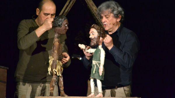 Robinson Crusoe l'avventura, al Teatro delle Briciole
