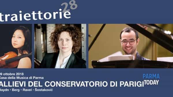 Traiettorie 2018 - concerto allievi del conservatorio di parigi