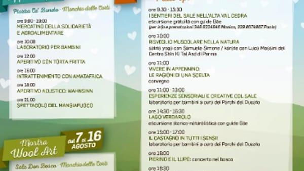 Appenninfest: il 13 e 14 Agosto nel Parco dei Cento Laghi