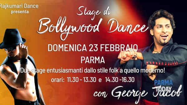 let's bollywood! con george jacob domenica 23 febbraio 2020