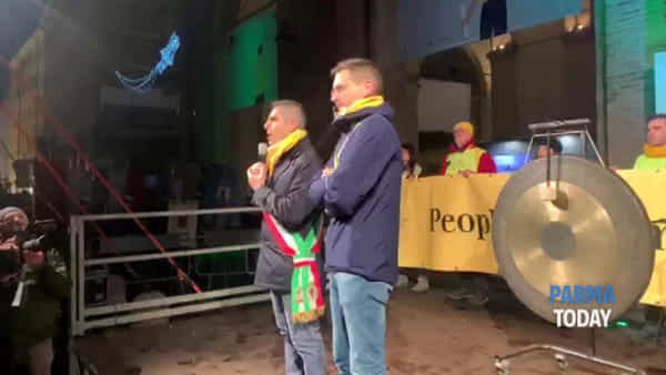 VIDEO - Parma Capitale della Cultura: il discorso del sindaco Pizzarotti