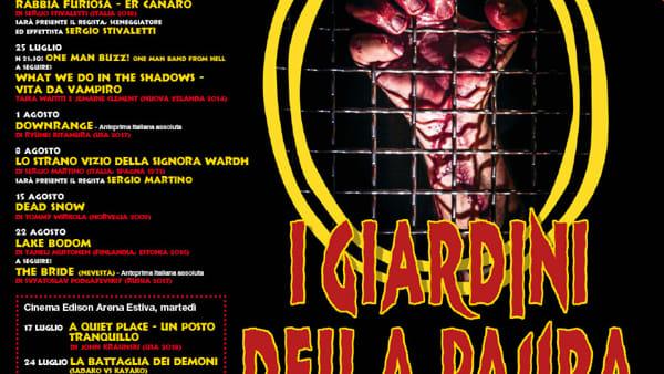 Parma capitale del terrore: tornano i Giardini della Paura