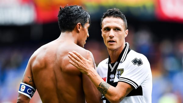 Bruno Alves e Siligardi - foto Ansa
