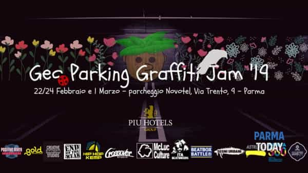 geo parking graffiti jam 2019 a parma raduno di artisti di fama internazionale presso novotel