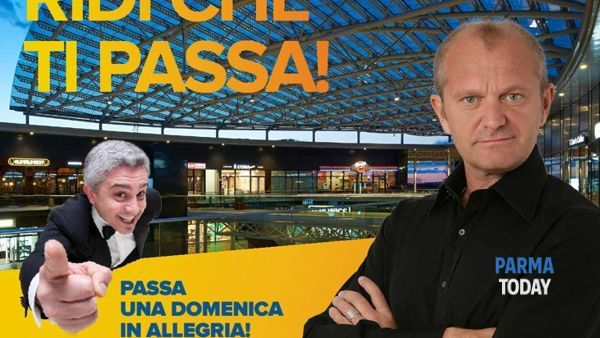 Risate a crepapelle a parma retail con Andrea Baccan