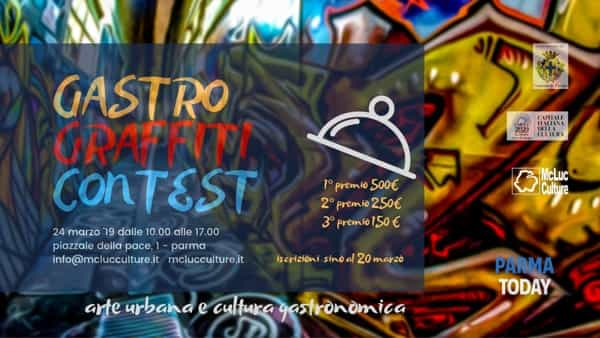 contest nazionale di graffiti: gastro graffiti contest 2019 a parma
