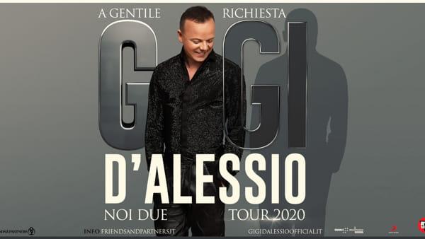 Gigi D'Alessio al Teatro Regio di Parma