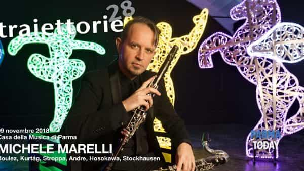 Traiettorie 2018 - concerto di Michele Marelli