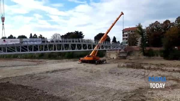 VIDEO | Ecco il nuovo ponte della Navetta