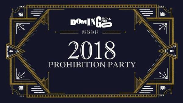Capodanno 2018 Prohibition Party