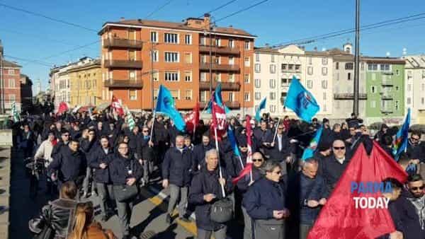 VIDEO | Tep: corteo degli autisti in sciopero