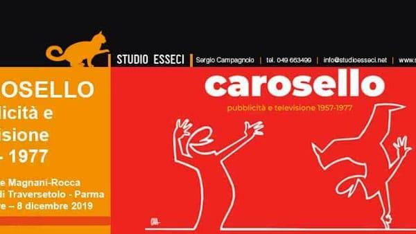 'Carosello. Pubblicità e Televisione 1957-1977': al via la mostra alla Magnani Rocca