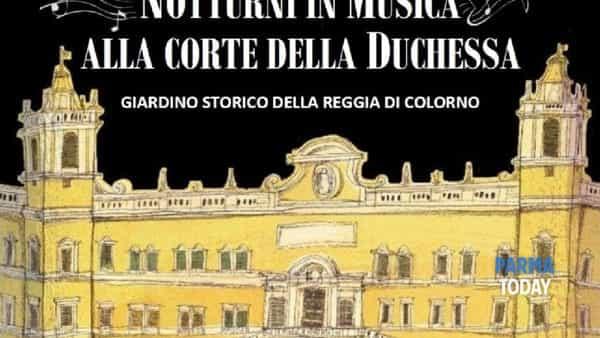 notturni in musica alla corte della duchessa