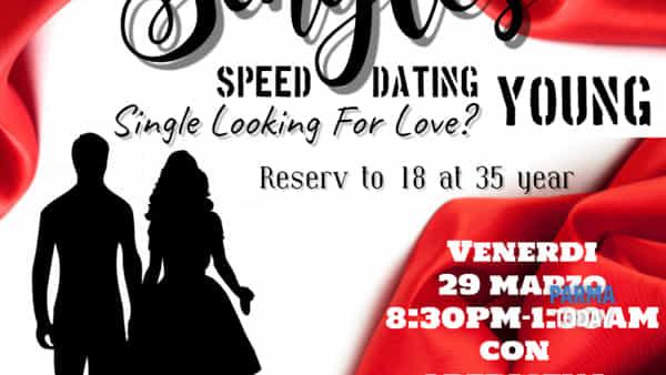 """il """"brio"""" in citta' speed date young al cles caffe 29 marzo"""