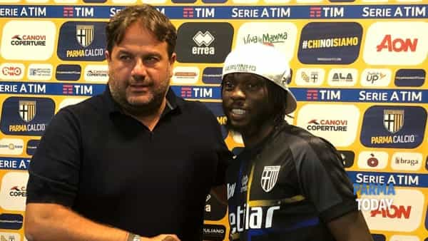 Gervinho e Faggiano - foto parmatoday.it