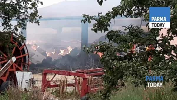 VIDEO | Incendio all'Agriturismo La Broncarda