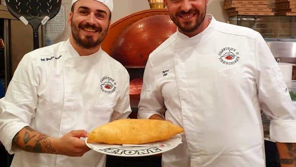Loro di Napoli a Parma: con la pizza fritta