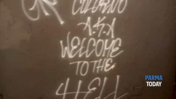 stazione di colorno. ancora atti vandalici. ormai non farà di certo più notizia.-7