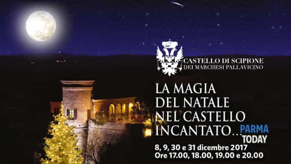 La magia del natale nel castello incantato…