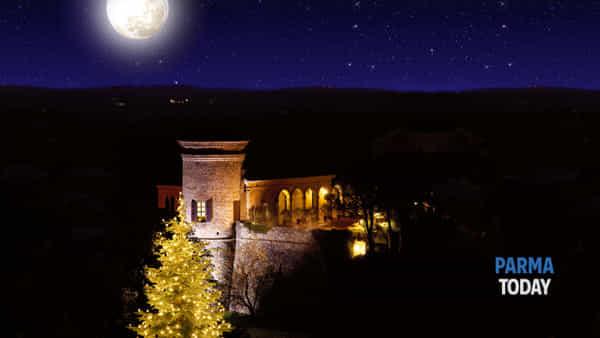 Castello di scipione dei marchesi pallavicino: la magia del Natale nel castello incantato…