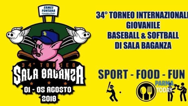 34° torneo di baseball e softball  - sport, cibo e musica
