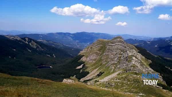 verso la panoramica cima del monte brusà