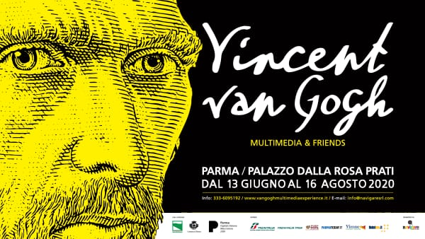 """Riapre la mostra  """"Van Gogh Multimedia & Friends"""" nella Capitale della Cultura 2020 + 2021"""