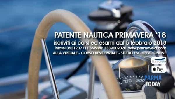 corso patente nautica a parma da lunedì 5 febbraio