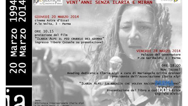 E' necessario ricordare: vent'anni senza Ilaria Alpi e Miran Hrovatin