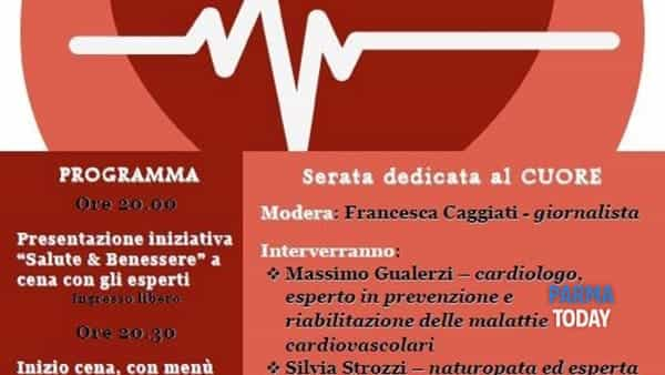 """serate """"salute & benessere"""" al via con il cardiologo massimo gualerzi e la naturopata silvia strozzi"""