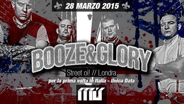 Booze & Glory al Mu: il 28 marzo